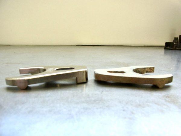 Billet magneto clamp